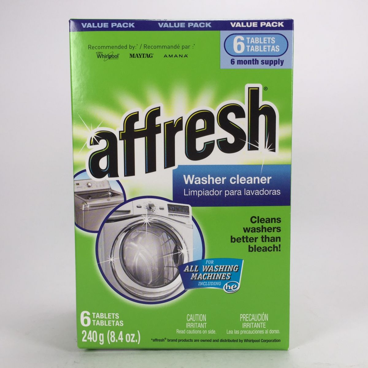 Whirlpool Affresh Washer Machine Cleaner 洗衣機清潔錠 (6碇裝) $350元